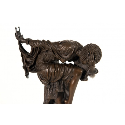 Ankara Dancer Bronze Sculpture