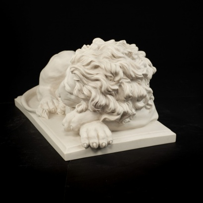 Lion ( sleeping) sculpture