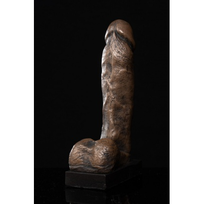 Anatomical Study of a Penis Sculpture