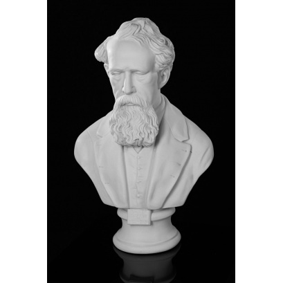 Charles Dickens bust