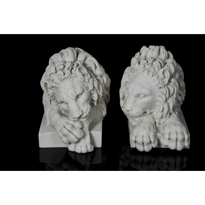 Chatsworth Lions (bookends)