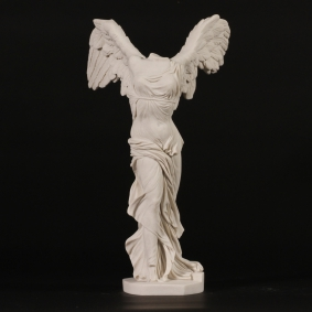 Nike or Winged Victory Marble Sculpture