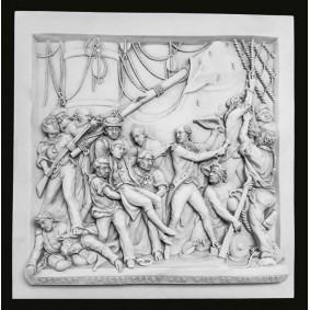 Death of Nelson Wall Plaque
