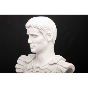 Augustus Caesar on a large socle