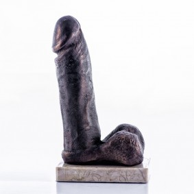 Anomical Study of a Penis Sculpture