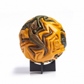 Reptile Sphere by Escher