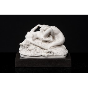 Female Lovers on a Marble base.