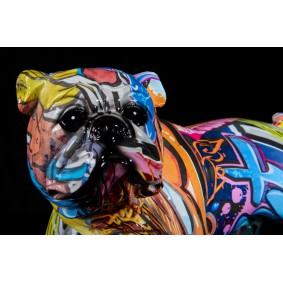 Graffiti Dog, Bulldog Sculpture