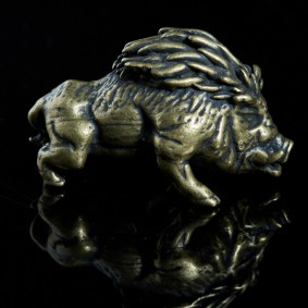 Minature Warthog / Wild Boar Sculpture