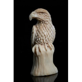 Miniature Sculpture of an Eagle.