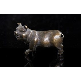 Miniature sculpture of a little Pig